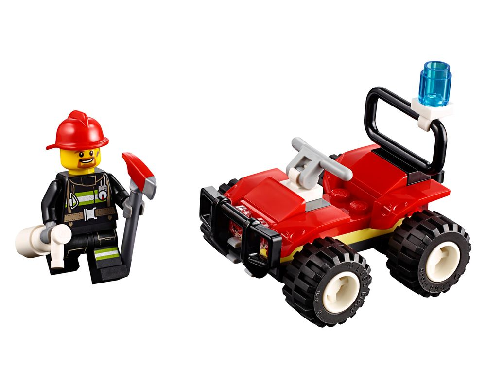 LEGO Set 30361-1 Fire ATV (LEGO - Model)