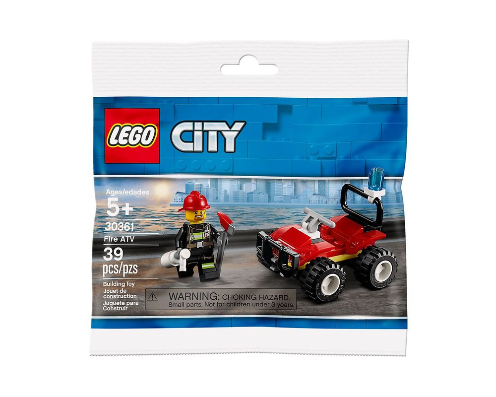 LEGO Set 30361-1 Fire ATV