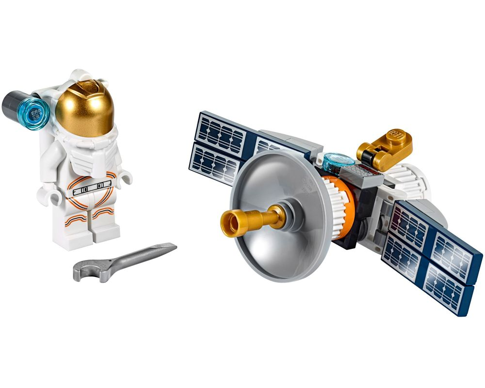 LEGO Set 30365-1 Space Satellite (Model - A-Model)