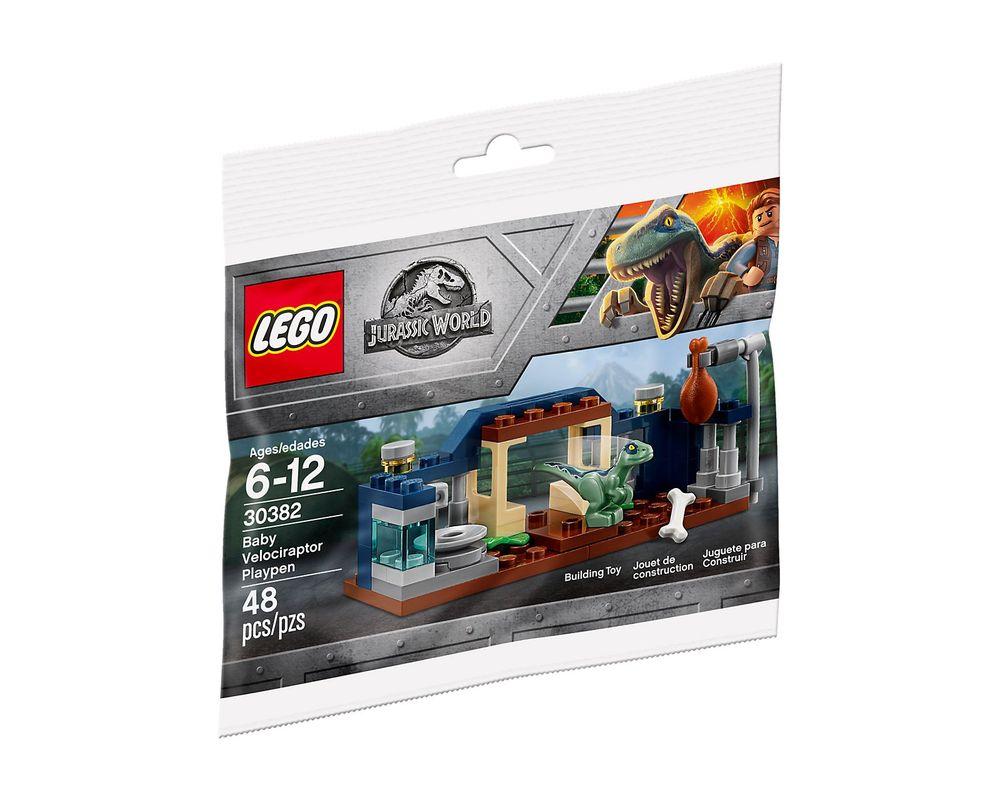 LEGO Set 30382-1 Baby Velociraptor Playpen