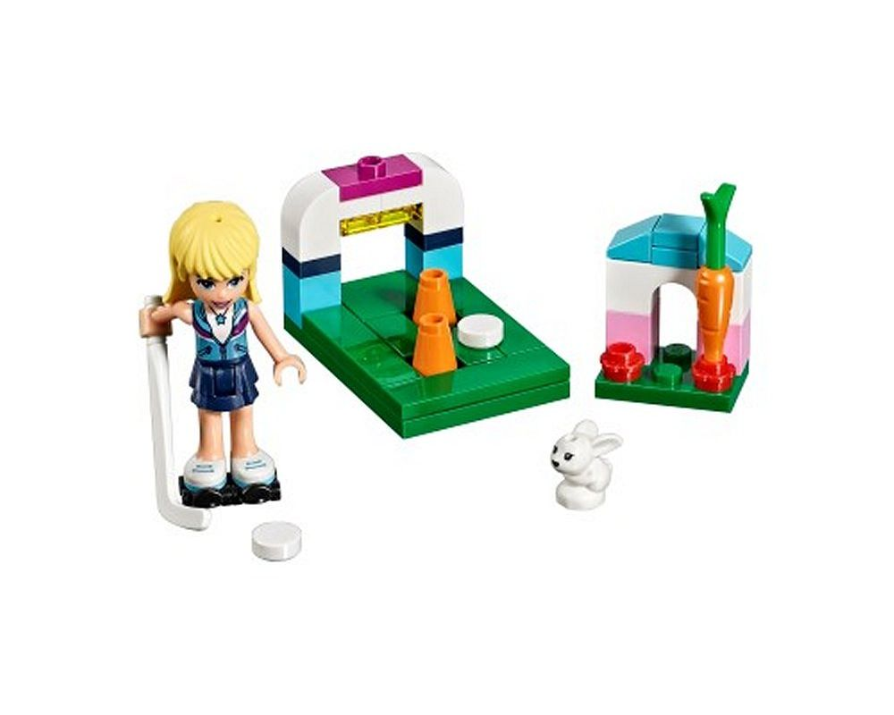 LEGO Set 30405-1 Stephanie's Hockey Practice (Model - A-Model)
