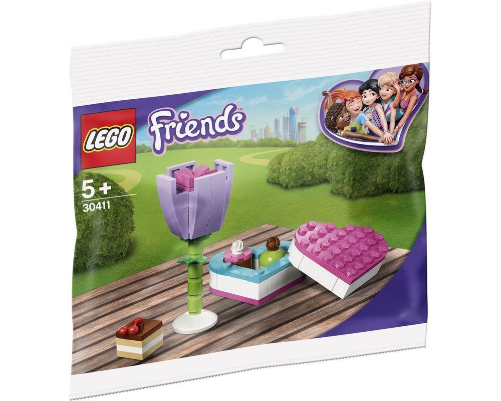 LEGO Set 30411-1 Chocolate Box & Flower (Model - A-Model)