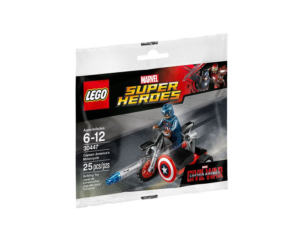 LEGO Set 30447-1 Captain America's Motorcycle