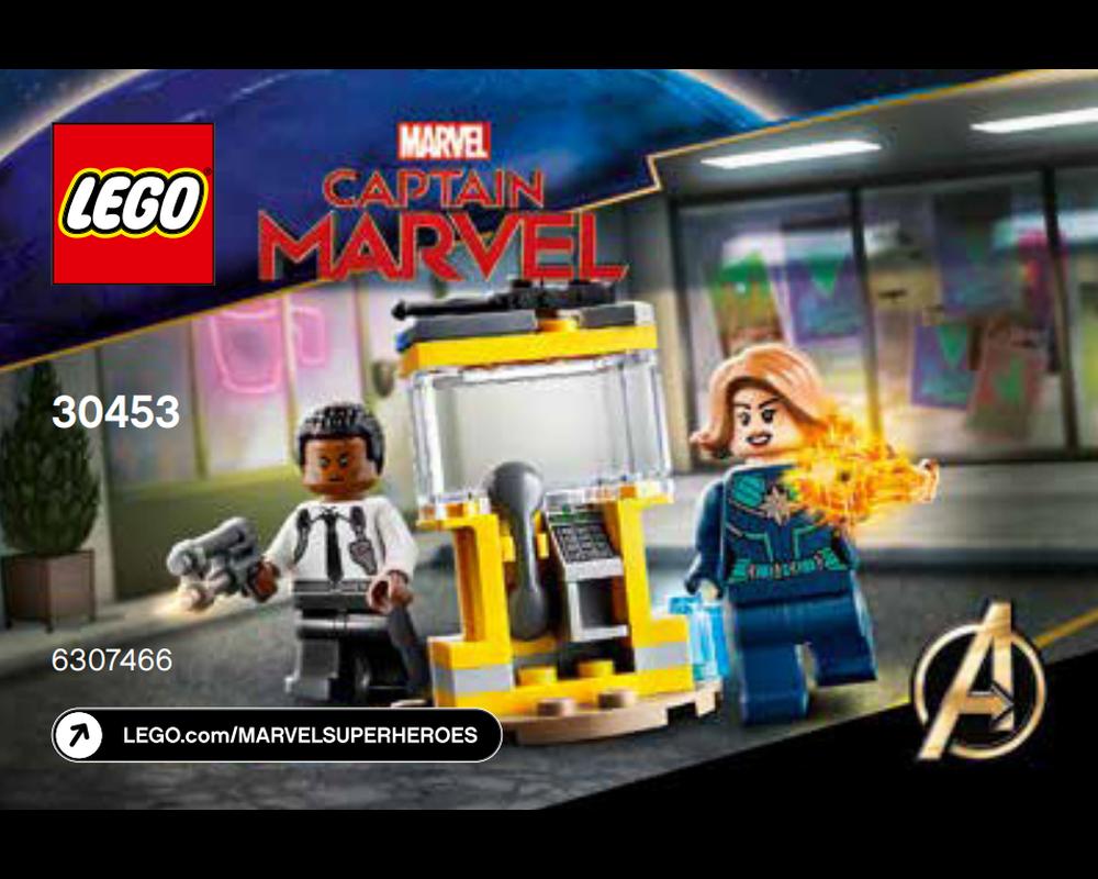 LEGO Set 30453-1 Captain Marvel and Nick Fury (Model - A-Model)