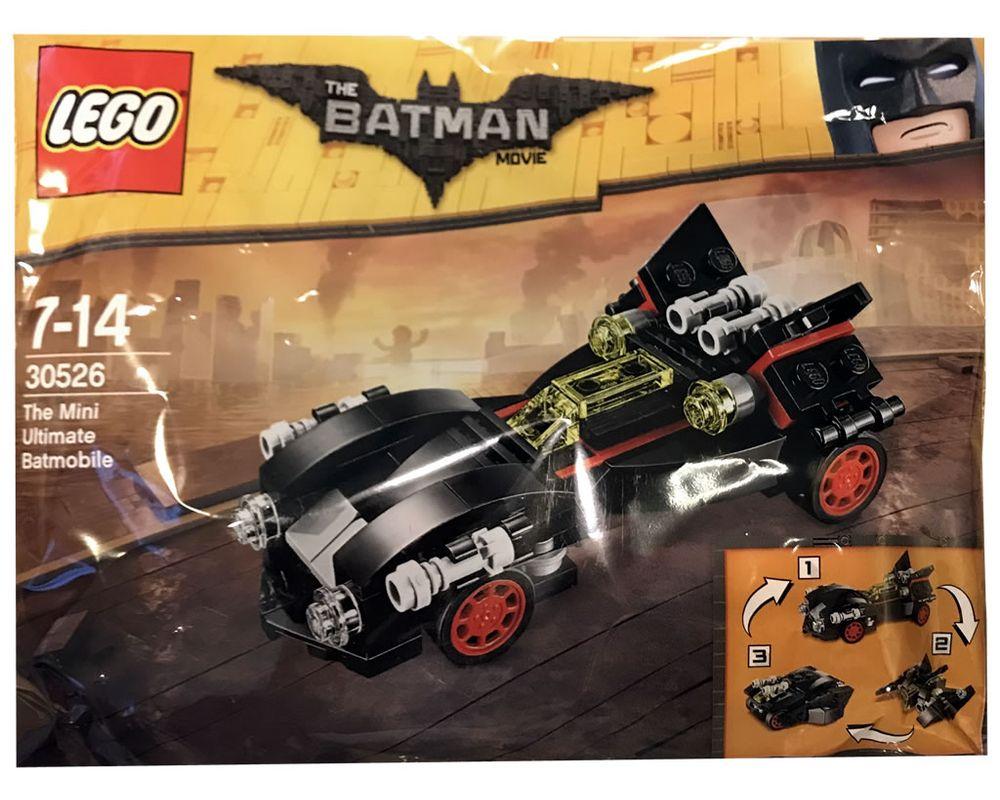 LEGO Set 30526-1 The Mini Ultimate Batmobile (Model - A-Model)