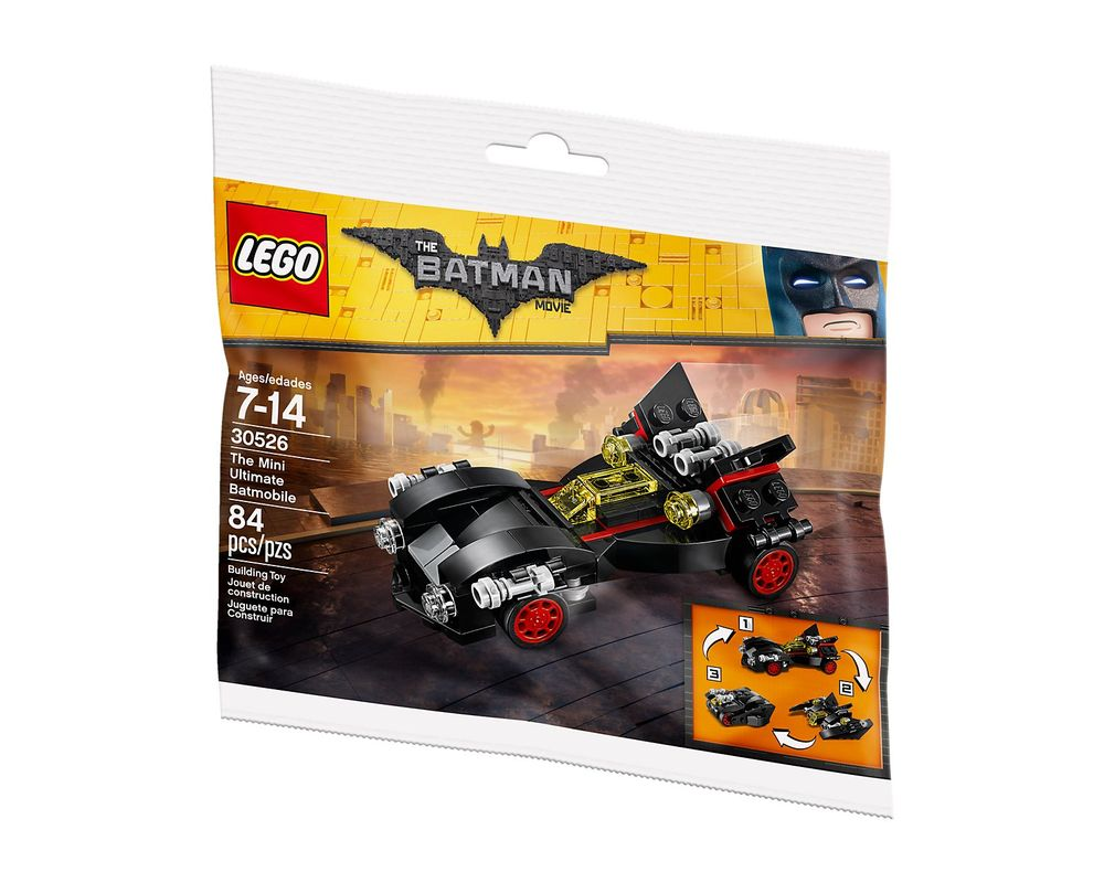 LEGO Set 30526-1 The Mini Ultimate Batmobile