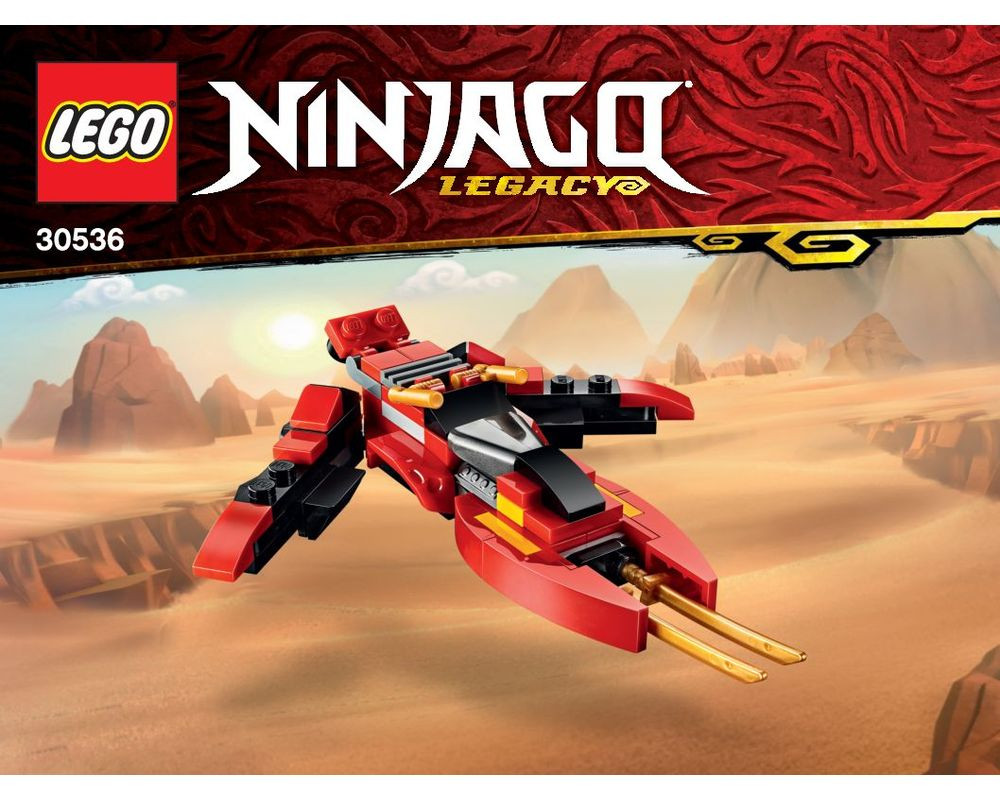Lego Set 30536 1 B1 Mini Kai Fighter 2020 Ninjago Rebrickable Build With Lego