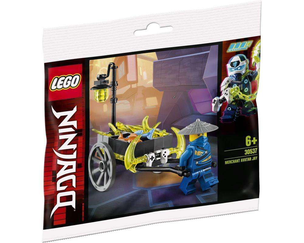 LEGO Set 30537-1 Merchant Avatar Jay (Model - A-Model)