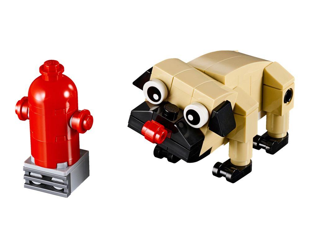 LEGO Set 30542-1 Cute Pug (Model - A-Model)