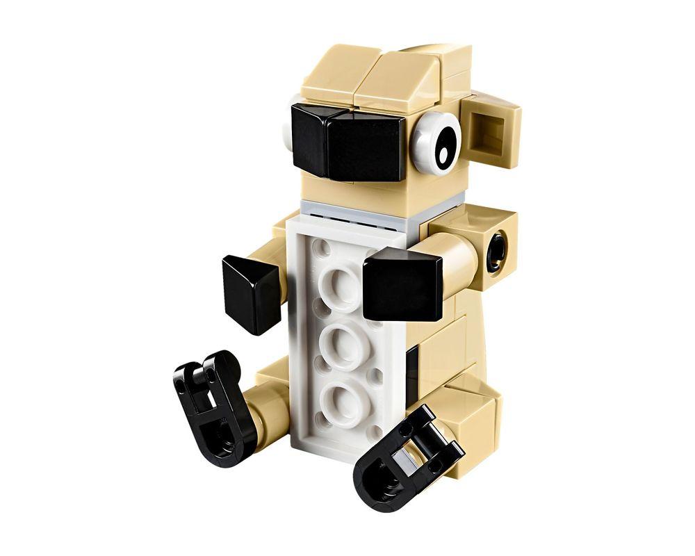 LEGO Set 30542-1 Cute Pug