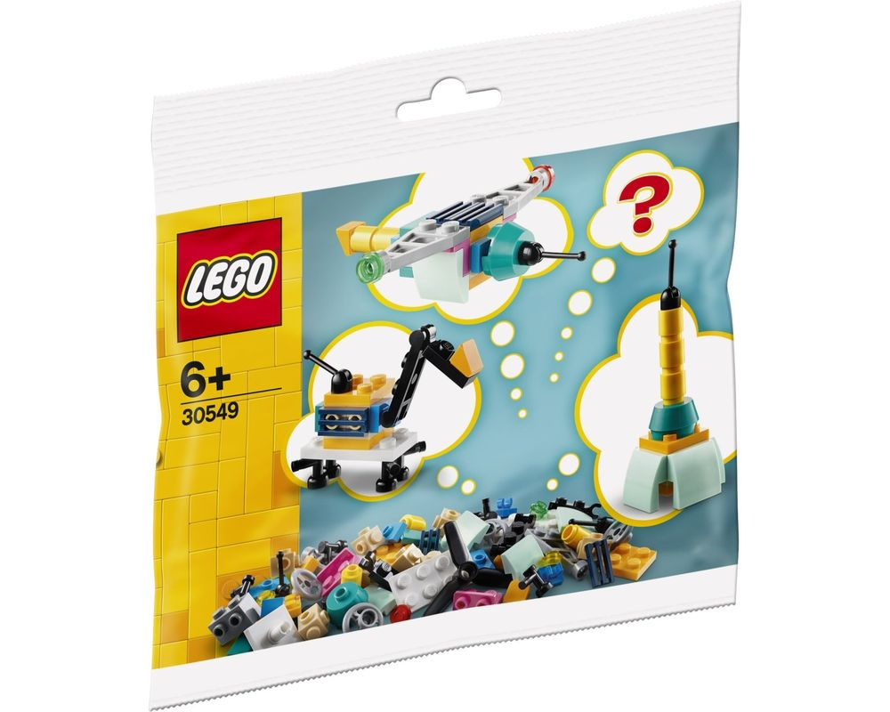 LEGO Set 30549-1 Build Your Own Vehicles (Model - A-Model)