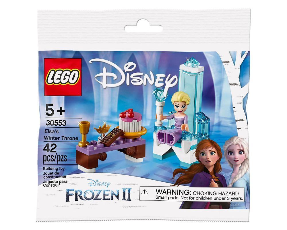 LEGO Set 30553-1 Elsa's Winter Throne