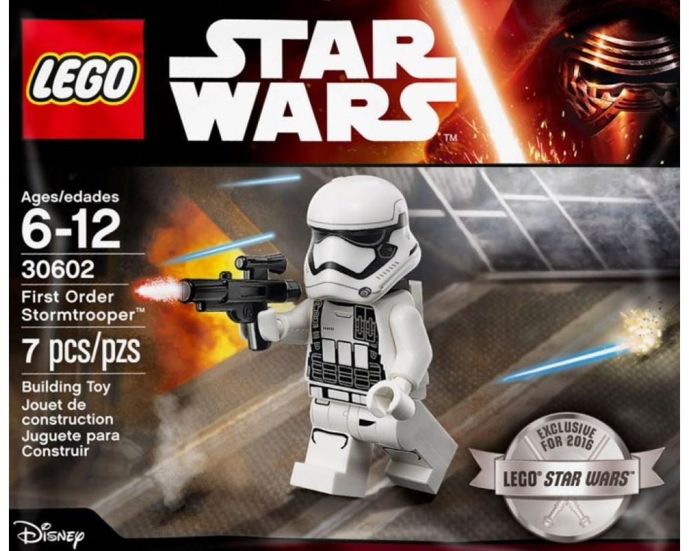 LEGO Set 30602-1 First Order Stormtrooper (LEGO - Model)