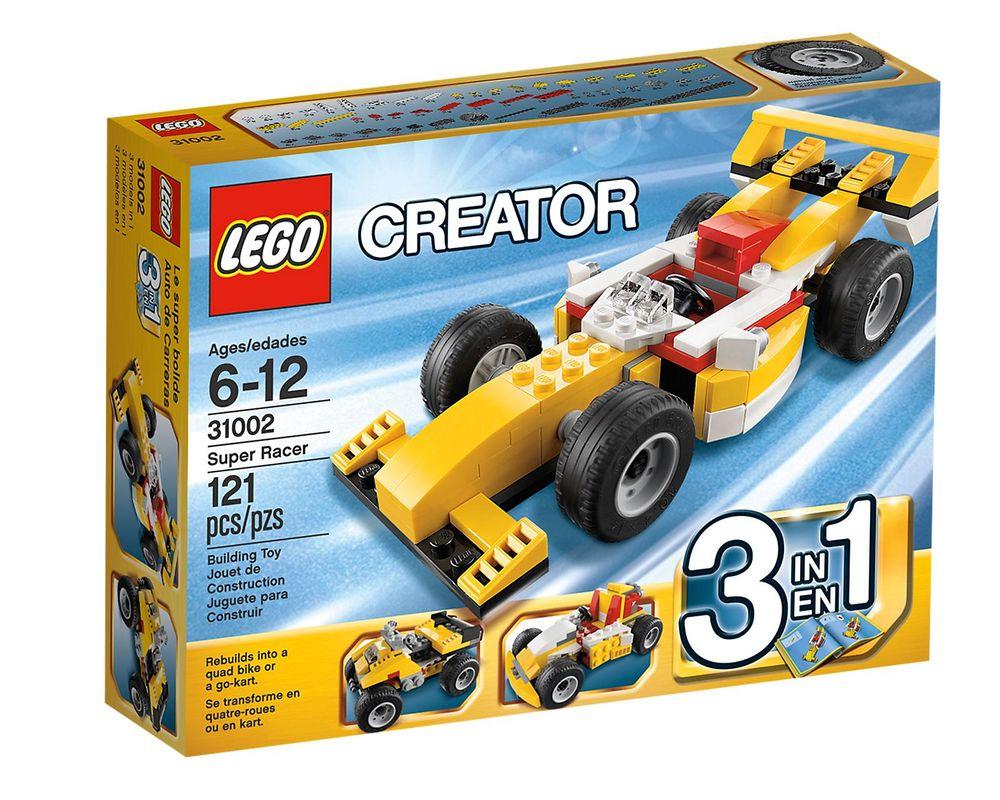 LEGO Set 31002-1 Super Racer