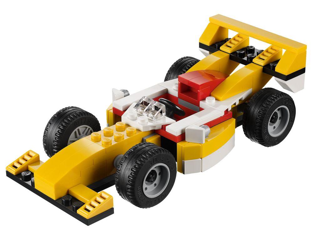 LEGO Set 31002-1 Super Racer (Model - A-Model)