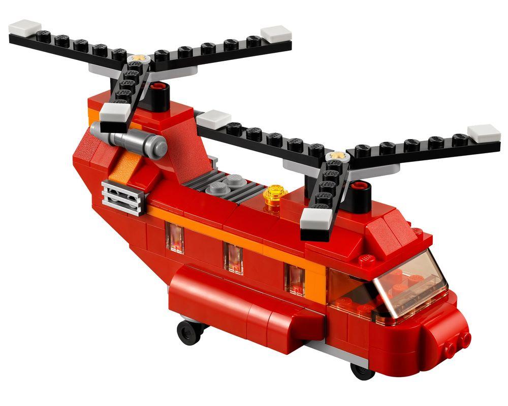 LEGO Set 31003-1 Red Rotors (LEGO - Model)