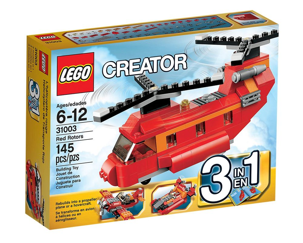 LEGO Set 31003-1 Red Rotors