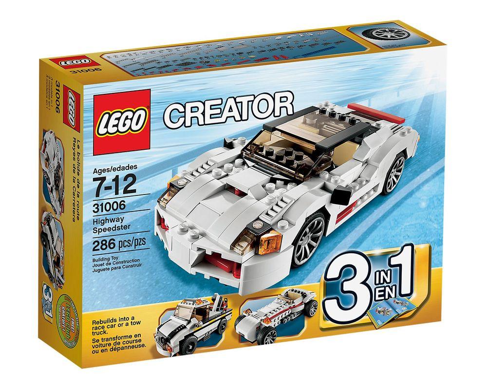 LEGO Set 31006-1 Highway Speedster