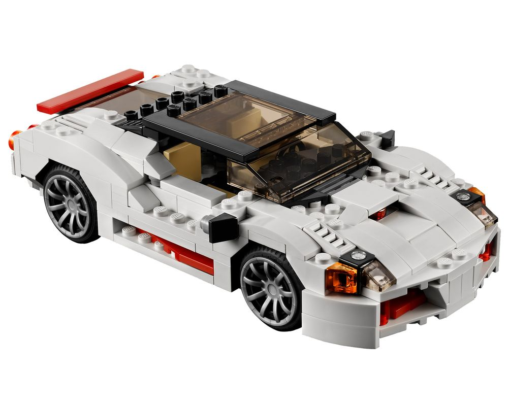 LEGO Set 31006-1 Highway Speedster (Model - A-Model)