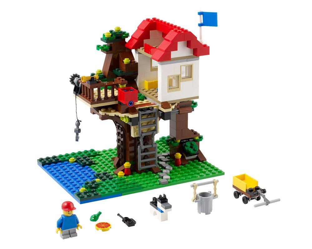 LEGO Set 31010-1 Treehouse (LEGO - Model)