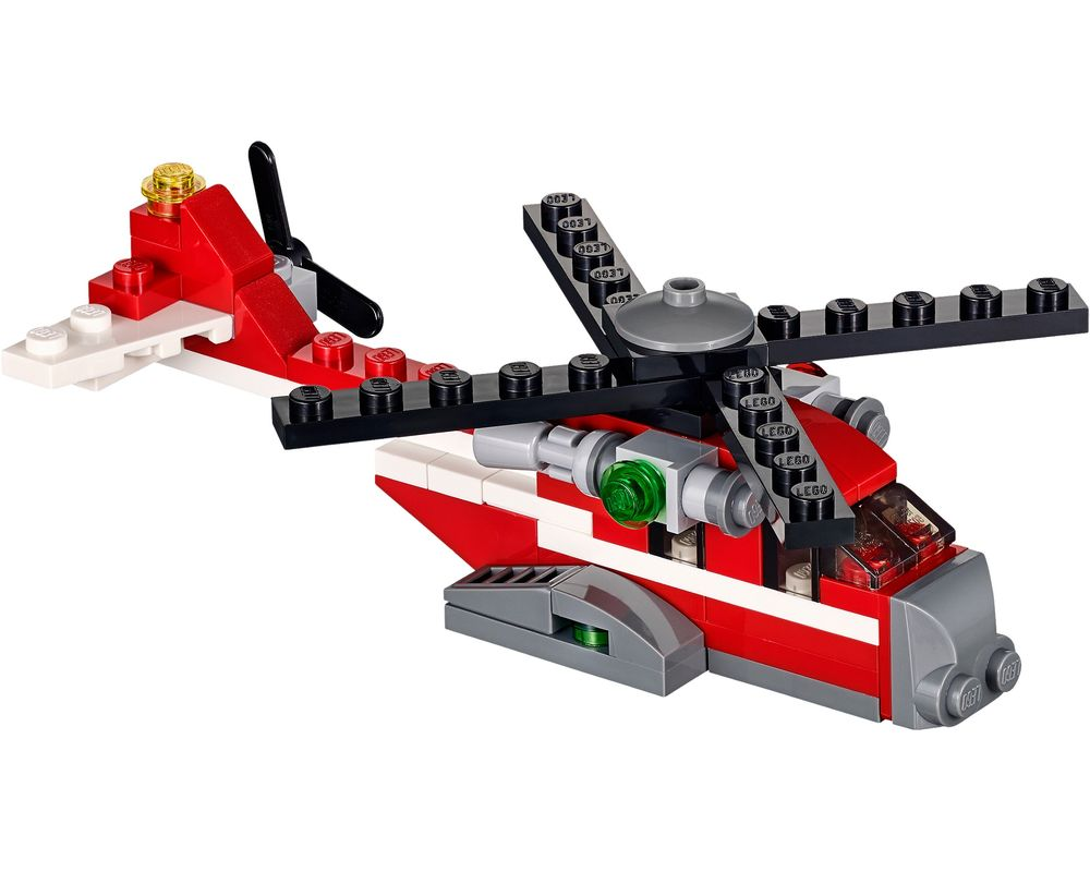 LEGO Set 31013-1 Red Thunder (Model - A-Model)