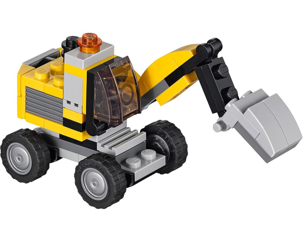 LEGO Set 31014-1 Power Digger (Model - A-Model)