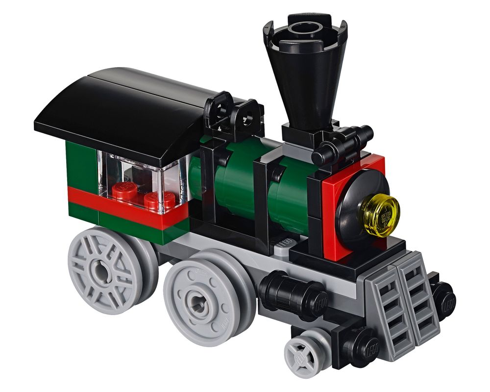 LEGO Set 31015-1 Emerald Express (Model - A-Model)