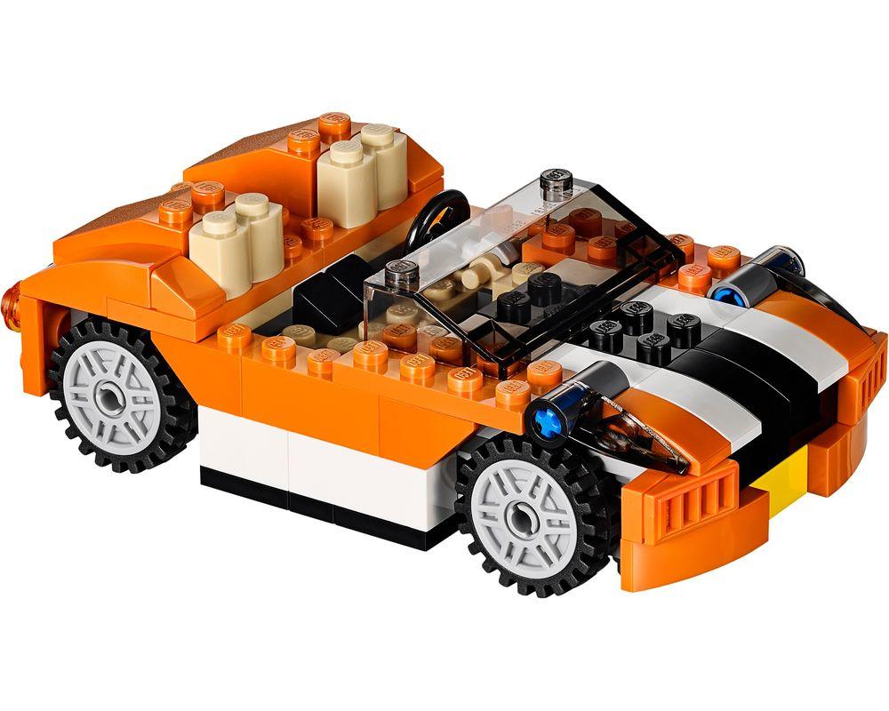 LEGO Set 31017-1 Sunset Speeder (LEGO - Model)