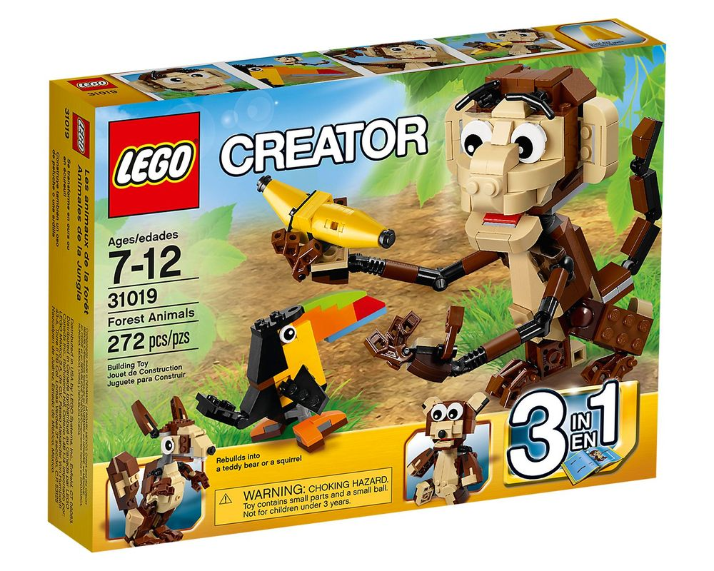 LEGO Set 31019-1 Forest Animals