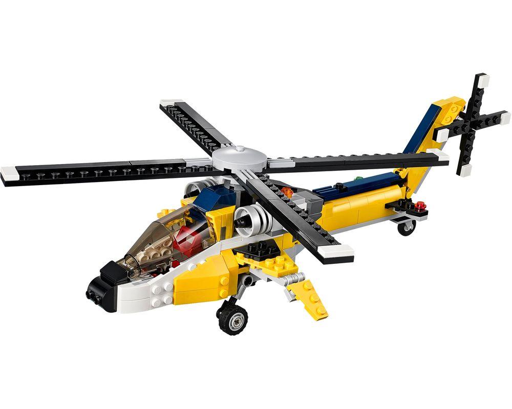 LEGO Set 31023-1 Yellow Racers (LEGO - Model)