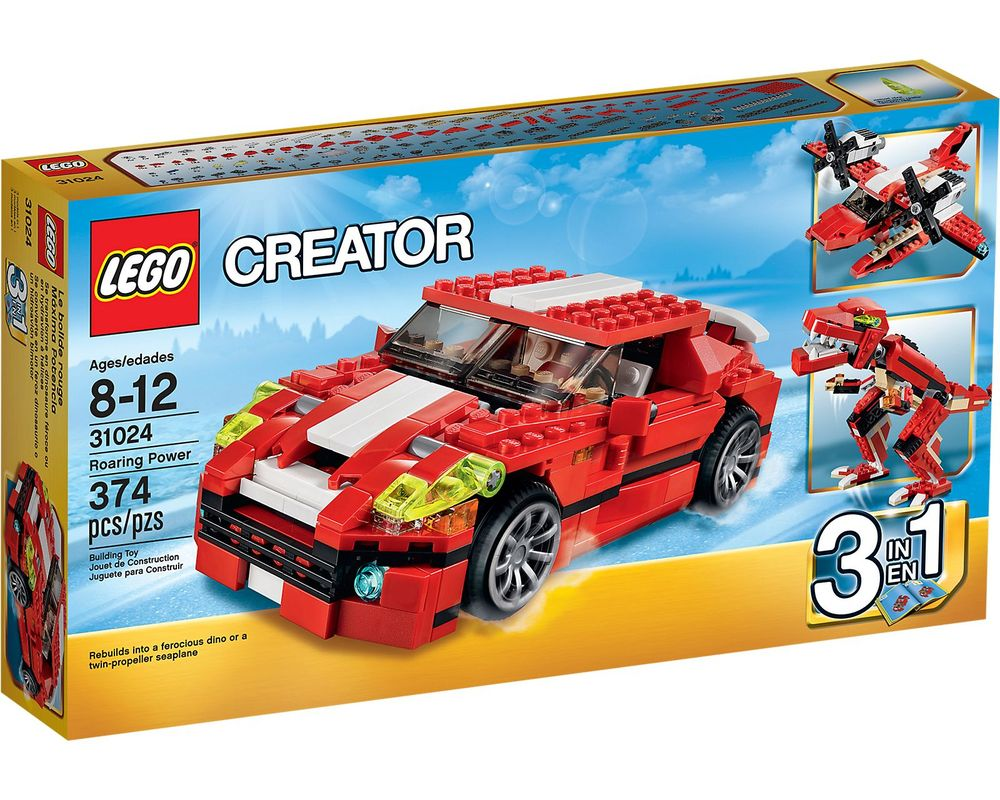 LEGO Set 31024-1 Roaring Power