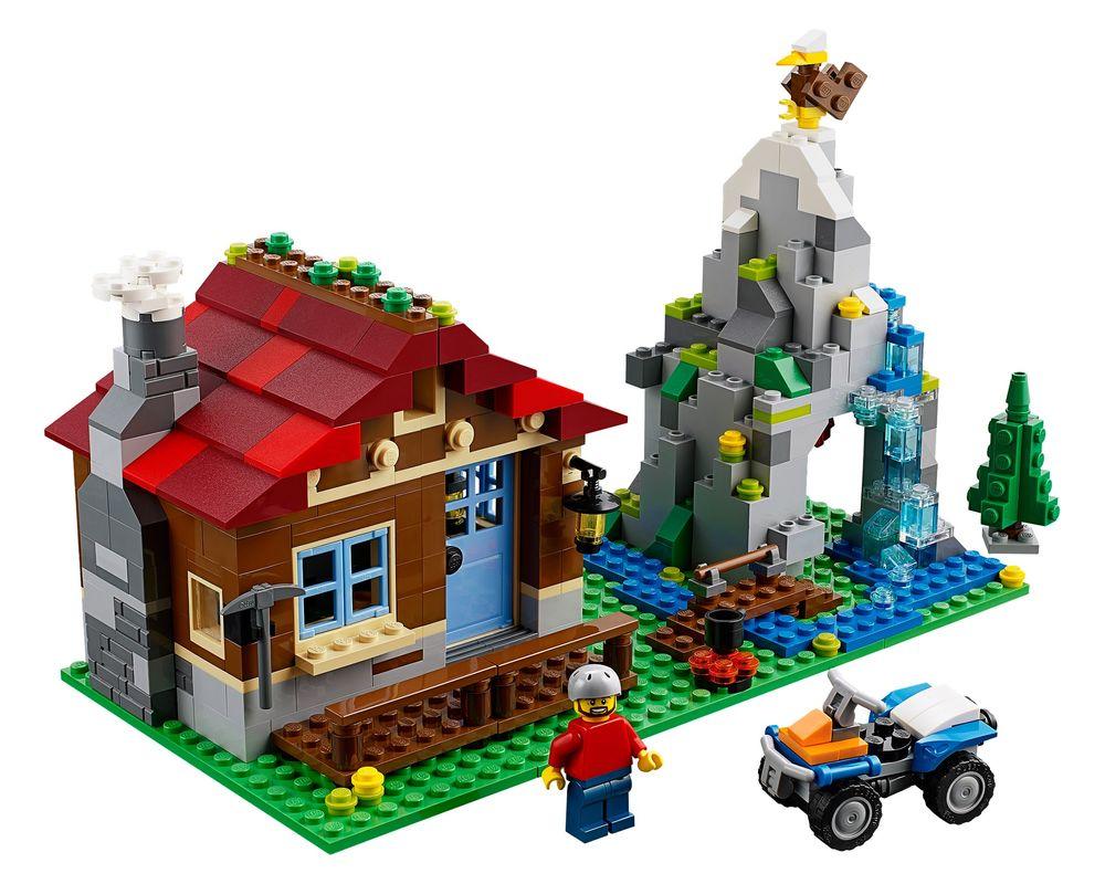 LEGO Set 31025-1 Mountain Hut (LEGO - Model)