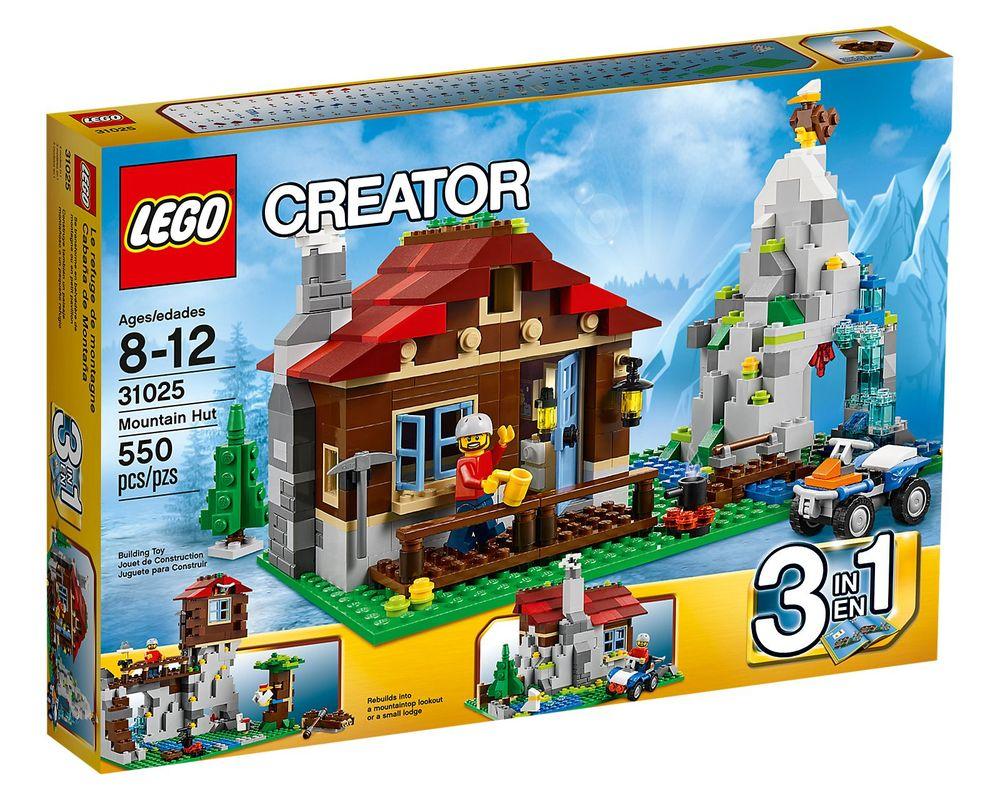 LEGO Set 31025-1 Mountain Hut