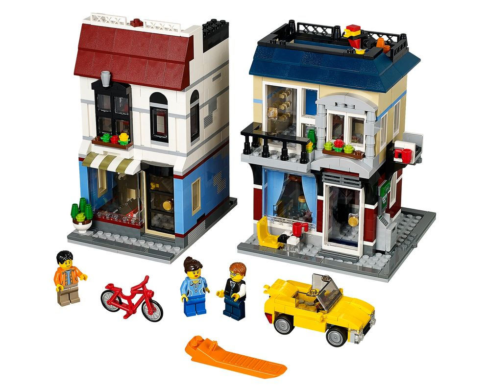 LEGO Set 31026-1 Bike Shop & Cafe (LEGO - Model)