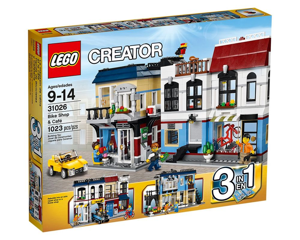 LEGO Set 31026-1 Bike Shop & Cafe
