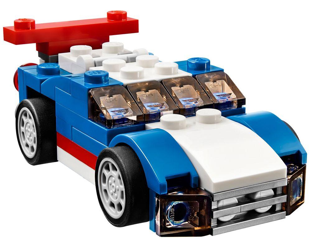LEGO Set 31027-1 Blue Racer (Model - A-Model)