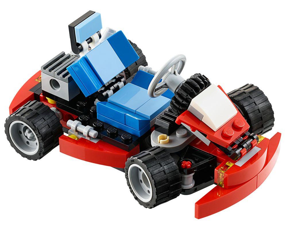 LEGO Set 31030-1 Red Go-Kart (Model - A-Model)