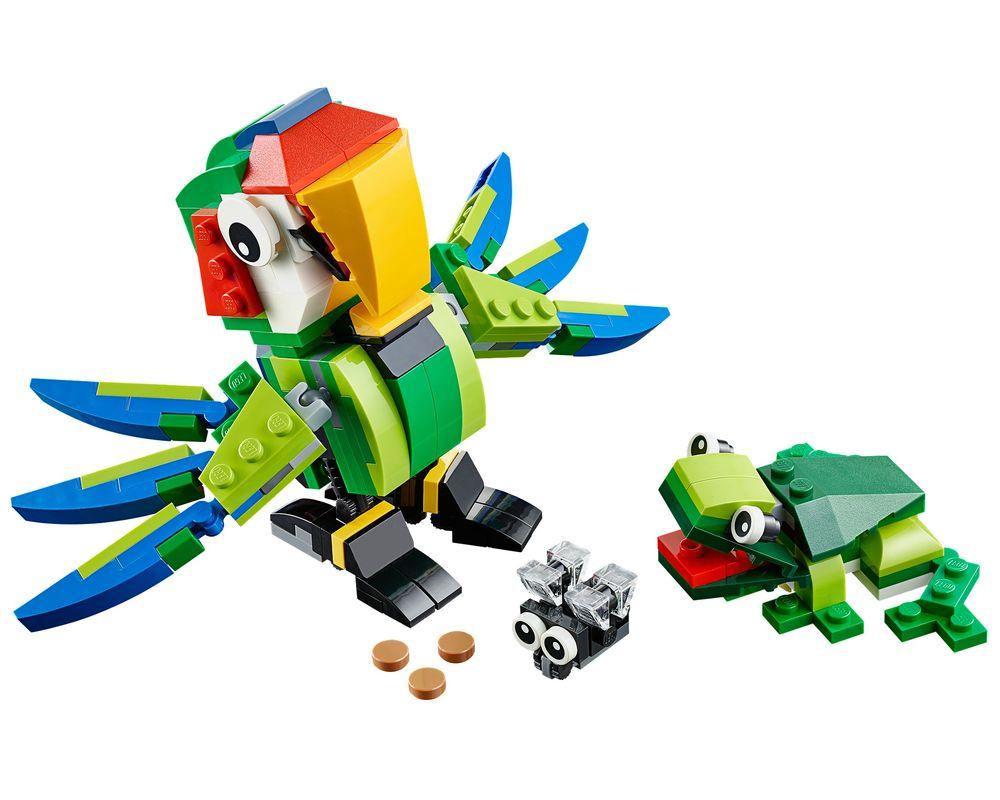 LEGO Set 31031-1 Rainforest Animals (LEGO - Model)