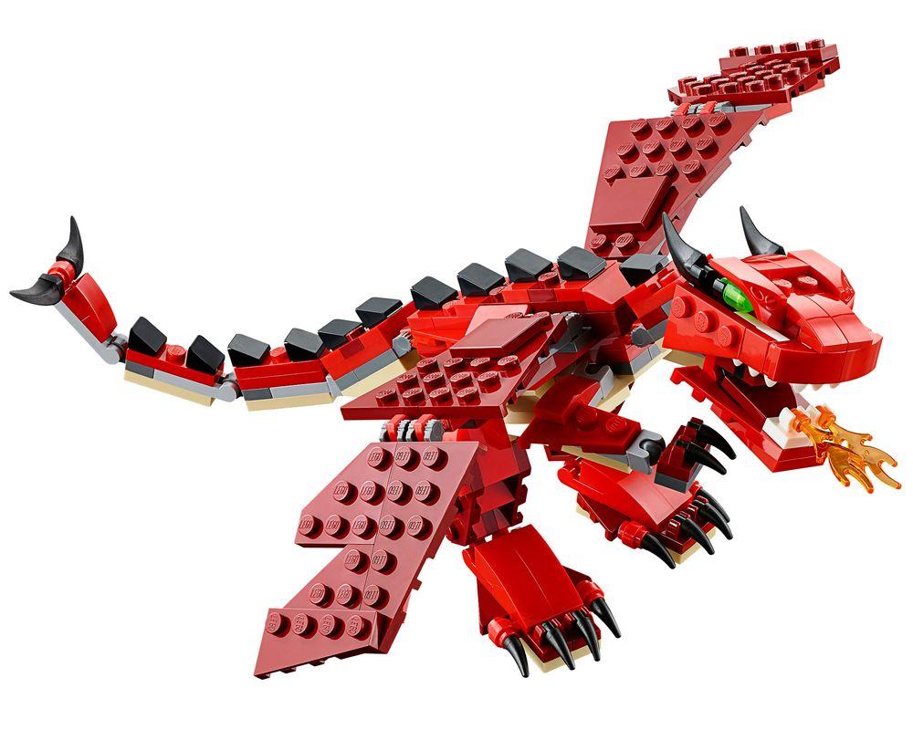 LEGO Set 31032-1 Red Creatures (LEGO - Model)