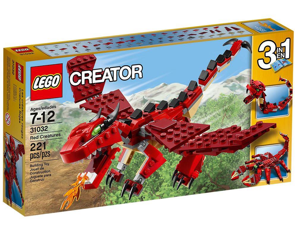 LEGO Set 31032-1 Red Creatures