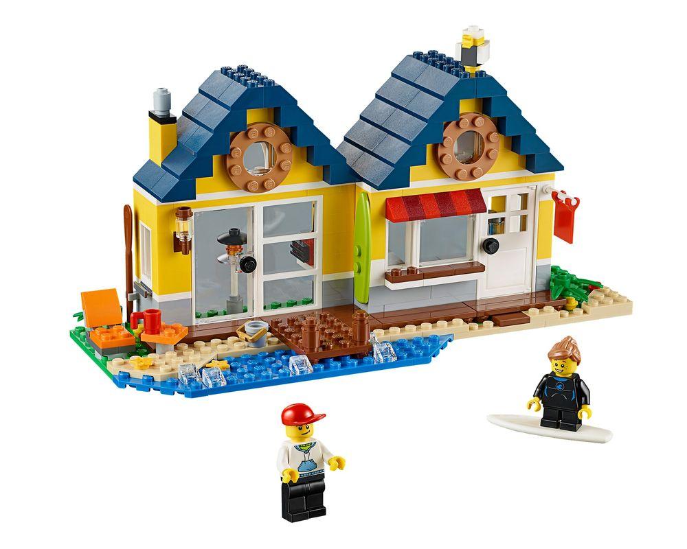 LEGO Set 31035-1 Beach Hut (LEGO - Model)
