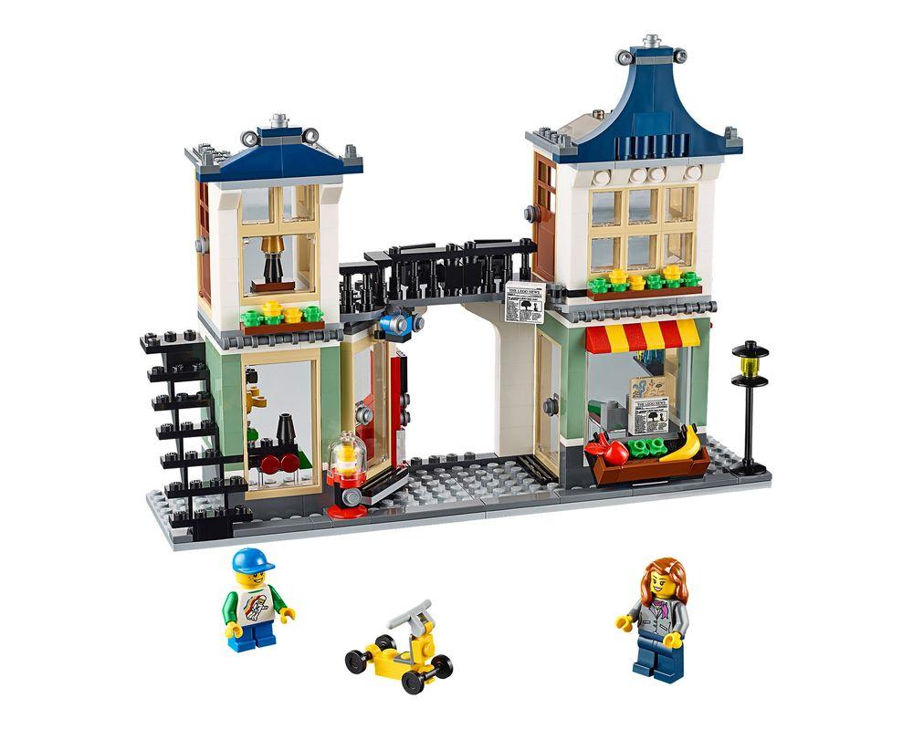 LEGO Set 31036-1 Toy & Grocery Shop (LEGO - Model)