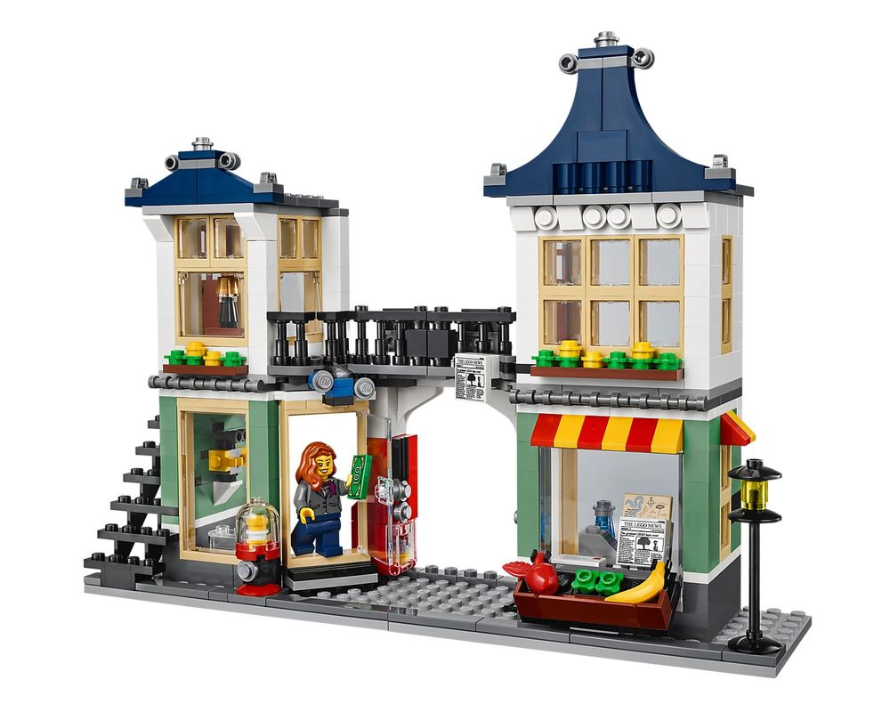LEGO Set 31036-1 Toy & Grocery Shop