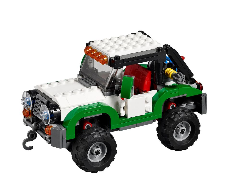 LEGO Set 31037-1 Adventure Vehicles (Model - A-Model)