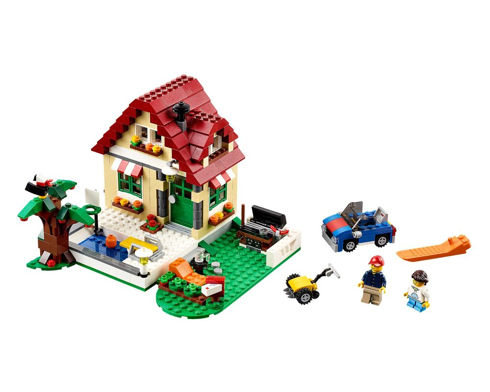 LEGO Set 31038-1 Changing Seasons (LEGO - Model)