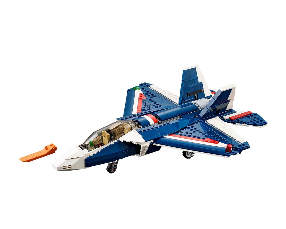 LEGO Set 31039-1 Blue Power Jet (Model - A-Model)