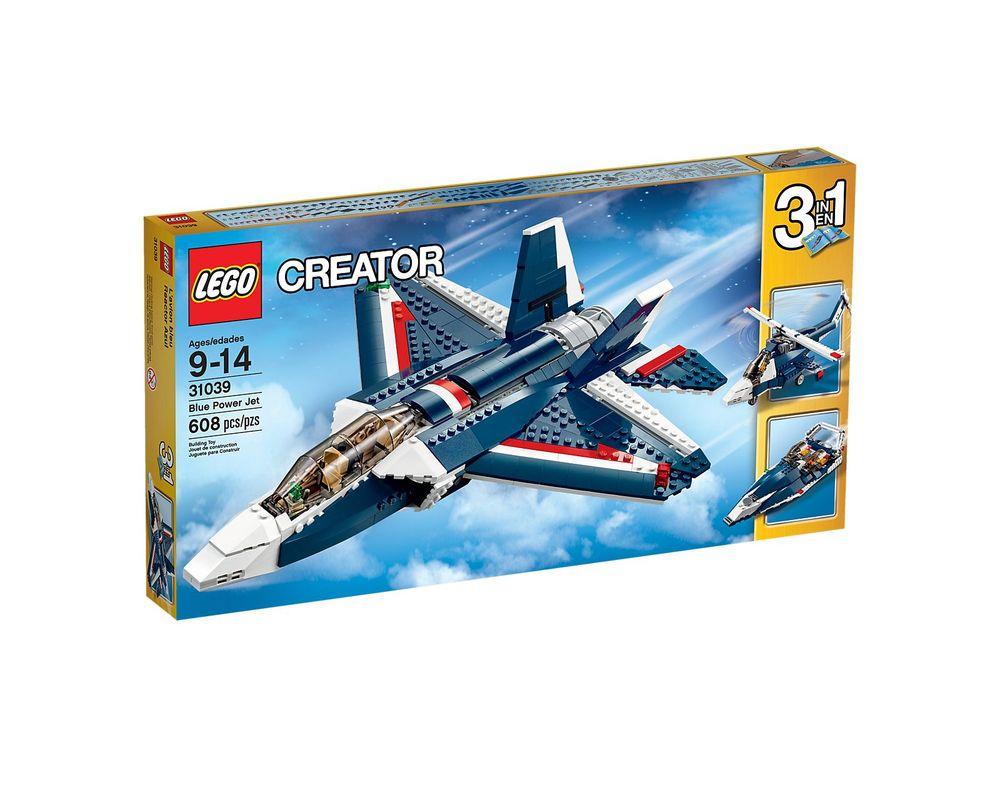 LEGO Set 31039-1 Blue Power Jet
