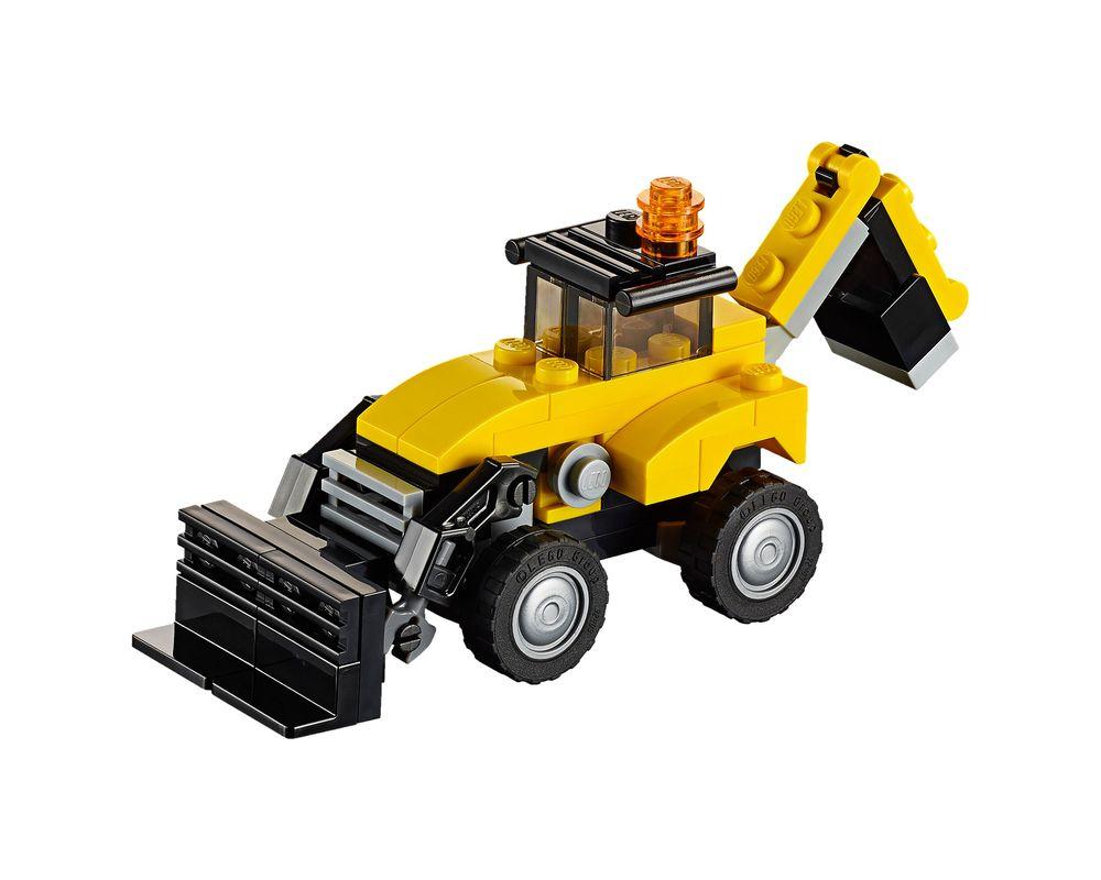 LEGO Set 31041-1 Construction Vehicles (LEGO - Model)