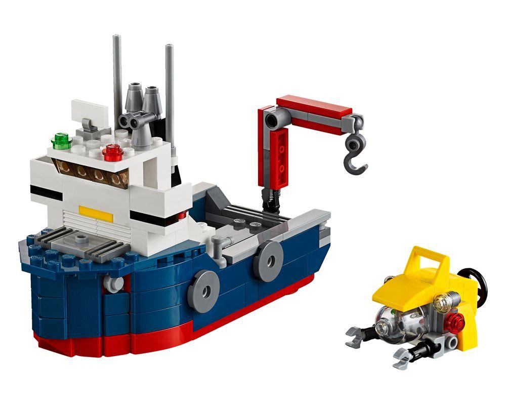 LEGO Set 31045-1 Ocean Explorer (LEGO - Model)