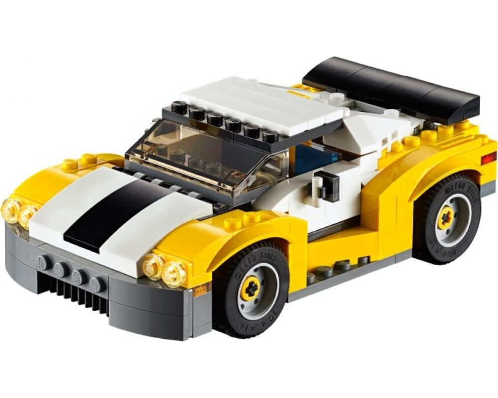 LEGO Set 31046-1 Fast Car (Model - A-Model)